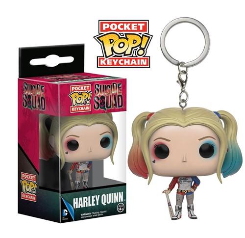 Harley Quinn Chaveiro - Esquadrão Suicida Suicide Squad - Funko Pocket