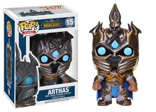 Arthas - Lich King Warcraft - Funko Pop Vinil
