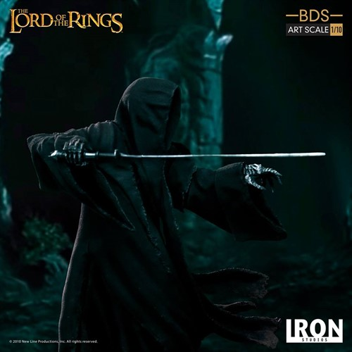 Attacking Nazgul BDS Art Scale 1/10 - Lord of the Rings Hobbit - IRON STUDIOS