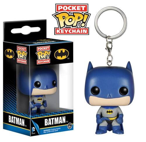 Batman Chaveiro Dc Comics - Funko Pop Pocket