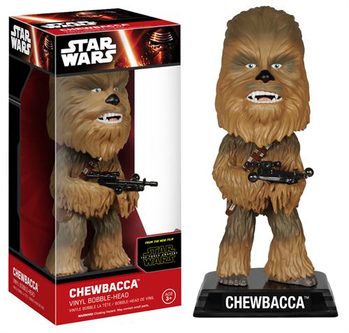Chewbacca Star Wars - O Despertar da Força - Funko Bobble Head