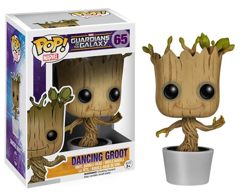 Groot Dancing - Guardiões Da Galáxia - Funko Pop Marvel