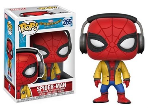 Spider-Man com fone - Spider-Man Homecoming - Funko POP MARVEL