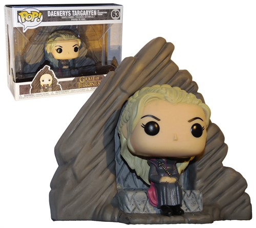 Daenerys Targaryen no Dragonstone Throne - Game of Thrones - Funko Pop Ridez