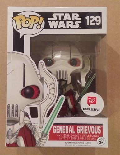 General Grievous 129 Star Wars - Walgreen's - Funko POP EXCLUSIVO