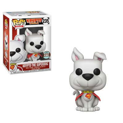 Krypto Superman DC Comics Specialty Series Exclusivo - Funko Pop Desenho