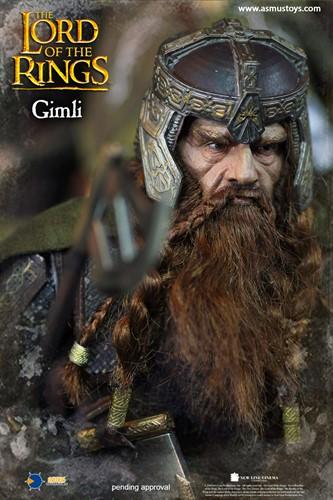 Gimli - The Lord of The Rings - O Senhor dos Anéis - Art Scale 1/6 - Asmus Toys