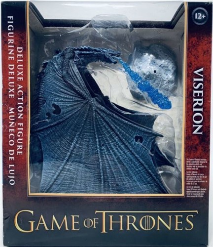 Viserion Ice Dragon Deluxe - GOT Game of Thrones Action Figure Box - McFarlane Toys