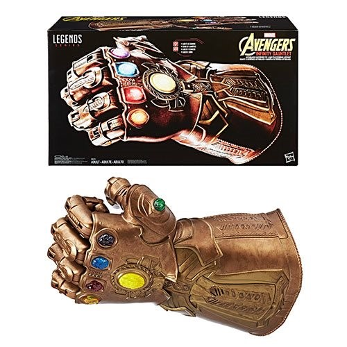 Manopla Thanos The Avengers: Infinity War Marvel Legends Series Infinity Gauntlet Articulated Electronic Fist - HASBRO
