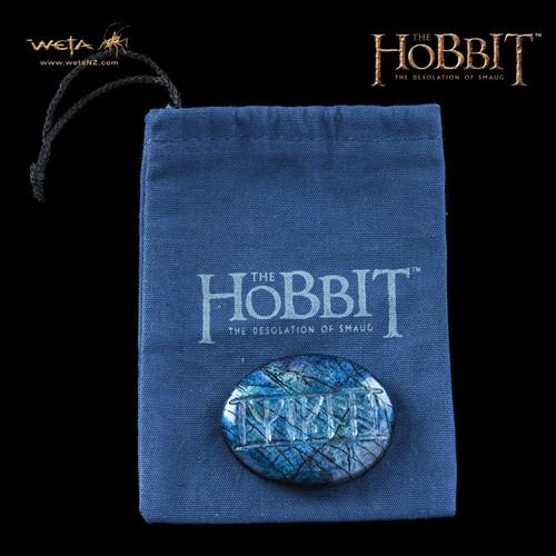 Pedra com Runa Kili - The Hobbit - Desolação de Smaug - WETA