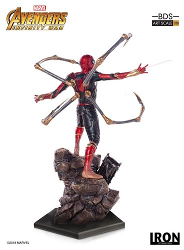 Iron Spider-Man BDS Art Scale 1/10 - Avengers: Infinity War Marvel - IRON STUDIOS