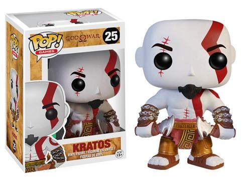 Kratos God Of Wars - Funko Pop Games