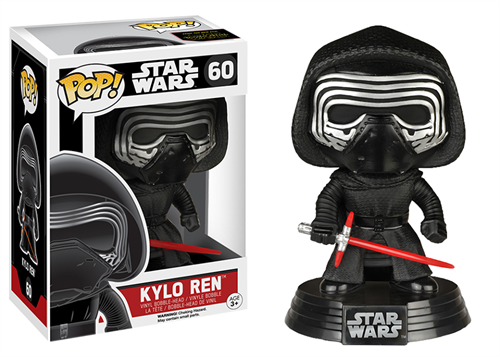 Kylo Ren Star Wars - O Despertar da Força - Funko POP Bobble Head