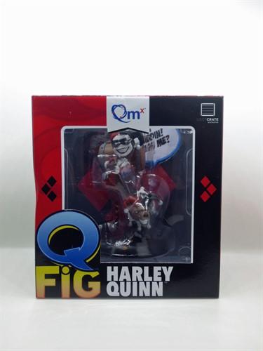 Harley Quinn Alerquina DC Comics - Q-Fig - QUANTUM MECHANIX Exclusivo Loot Crate