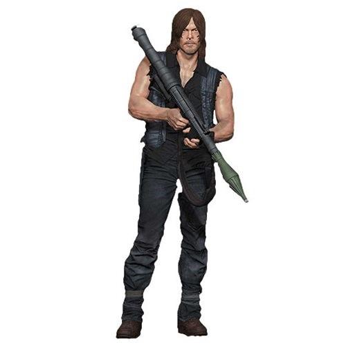 Daryl Dixon e Lançador de foguetes - The Walking Dead 25cm - Mcfarlene Toys