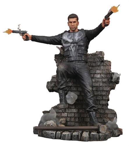 Punisher Justiceiro 1º Temporada Netflix Estatua Marvel Gallery - Diamond Select Toys