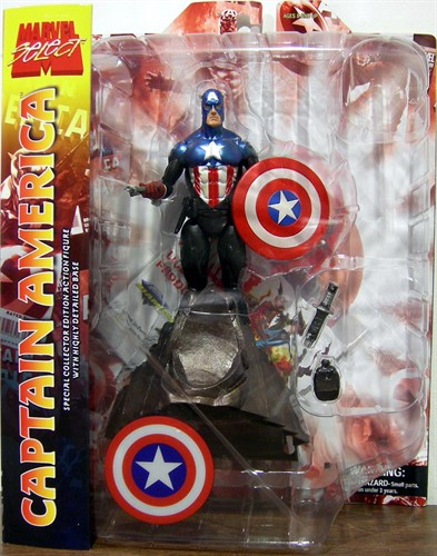 Capitão America - Marvel Select - Diamond