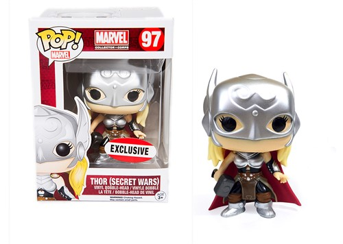 Lady Thor Secret Wars - Funko Pop Marvel