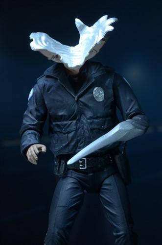 Terminator T-1000 - Motorcycle Cop- Ultimate- NECA