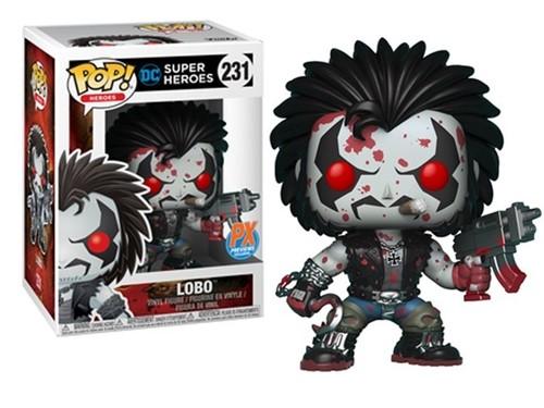 Lobo c/ Sangue - DC Comics - Funko POP - Previews Exclusivo
