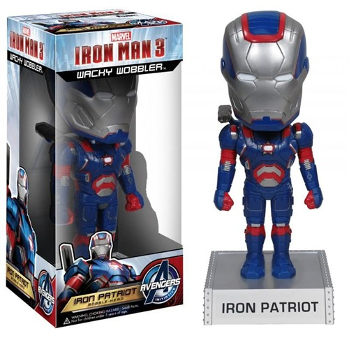Iron Man Patriot - Home De Ferro 3 - Iron Man 3 - Funko Bobble Head