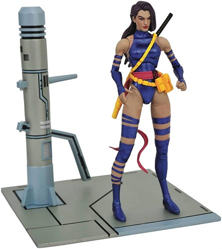 Psylocke X-Men - Marvel Select - Diamond Select Toys