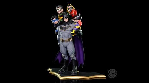 Batman Family Limited Edition Q-Master Diorama DC Comics Q-Fig - QUANTUM MECHANIX