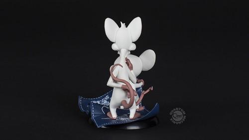 Pinky e Cérebro Warner Bros. Animation Desenho Q-Fig - QUANTUM MECHANIX