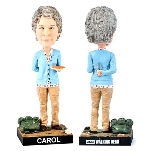 Carol - The Walking Dead Bobble Head - Royal Bobbles