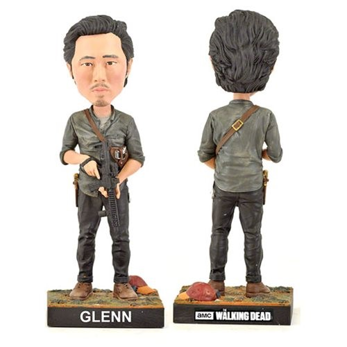 Glenn - The Walking Dead Bobble Head - Royal Bobbles