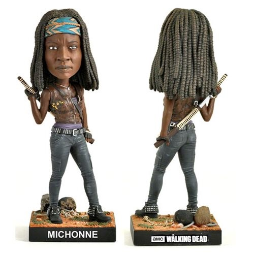 Michonne - The Walking Dead Bobble Head - Royal Bobbles