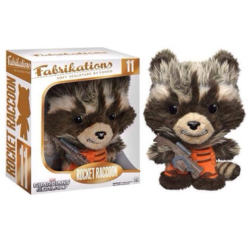 Rocket Raccoon - Guardiões da Galáxia - Marvel Pelúcia - Funko Fabrikations