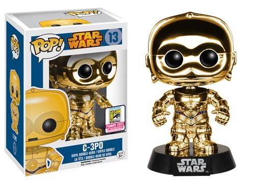 C-3po - Star Wars - Funko Pop Bobble Head EXCLUSIVO