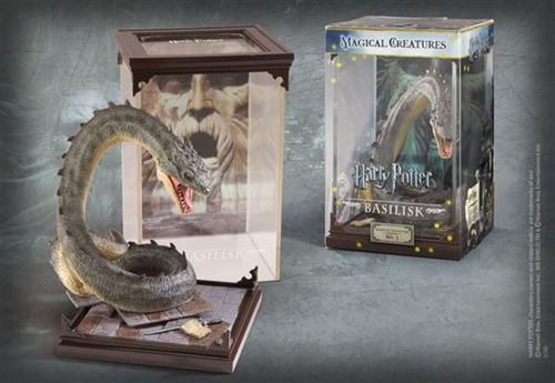 Basilisco Basilisk Criaturas Mágicas - Magical Creatures - The Noble Collection