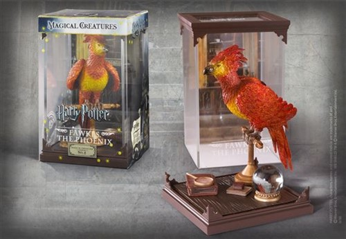 Fenix Criaturas Mágicas - Fawkes Magical Creatures - The Noble Collection