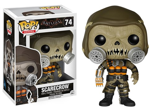 Espantalho Scarecrow - Batman Arkham Knight - Funko POP GAME