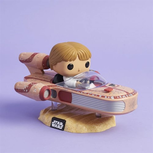 Luke Skywalker c/ Speeder Star Wars - Funko POP Smugglers Bounty Exclusivo