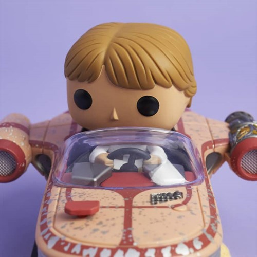 Luke Skywalker c/ Speeder Star Wars - Funko POP Smugglers Bounty Exclusivo