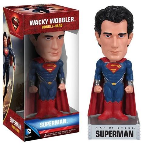 Superman - Man Of Steel - Homem De Aço - Funko Bobble Head