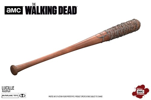 "Taco ""LUCILLE"" Negan The Walking Dead Réplica 1:1 - McFarlene Toys"