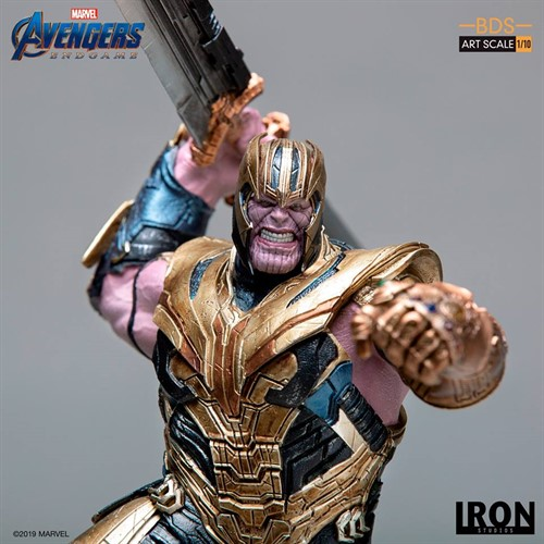 Thanos BDS Art Scale 1/10 - Avengers: Endgame - IRON STUDIOS