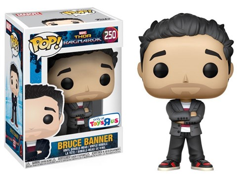 Bruce Banner - Thor Ragnarok  MARVEL - Funko POP Marvel - Exclusivo TOYSRUS