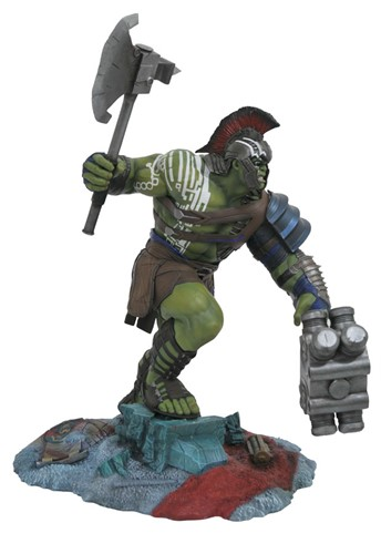 Hulk Gladiador - Thor Ragnarok Estatua Marvel Gallery - Diamond Select Toys