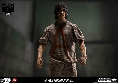 Daryl Dixon Prisoneiro - The Walking Dead Action Figure - McFarlene Toys Color Tops Series