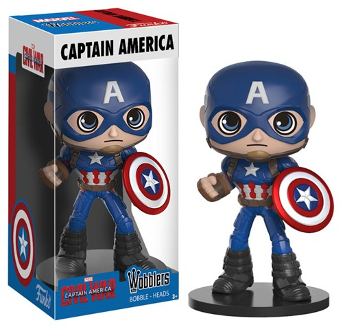 Capitão America - Captain America: Civil War - Funko Bobble Head