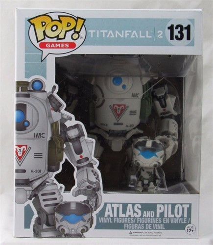 Atlas and Pilot - Titanfall 2 - Funko POP Game Exclusivo GameStop