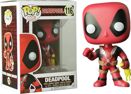 Deadpool Rubber Chicken - Deadpool - Funko POP Marvel Exclusivo Walgreens