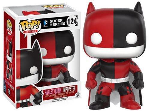 Harley Quinn Impostor Batman - Batman Impopster - Funko POP Heróis
