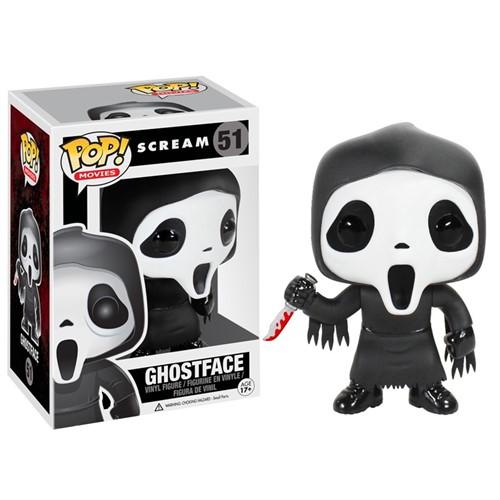 Pânico Scream - Ghostface - Funko Pop Movies