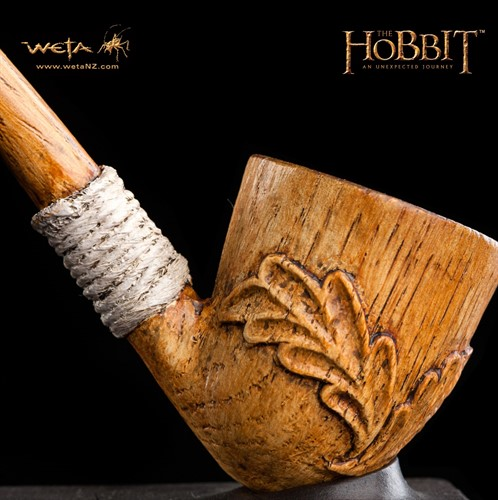 Cachimbo de Bilbo Baggins - Pipe of Bilbo - The Hobbit - Weta